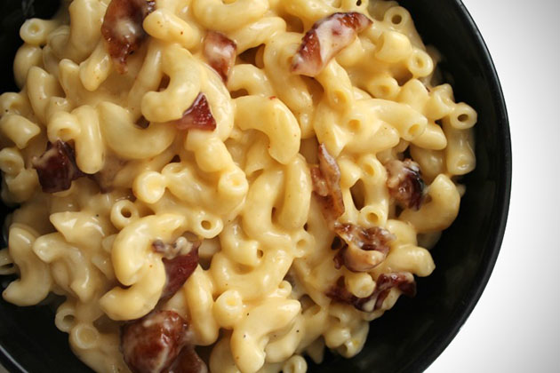 Jack Daniel's Bacon Mac and Cheese