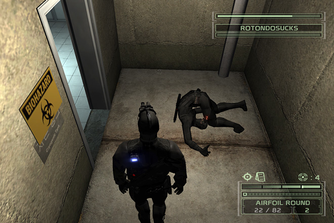 Tom Clancy's Splinter Cell- Chaos Theory