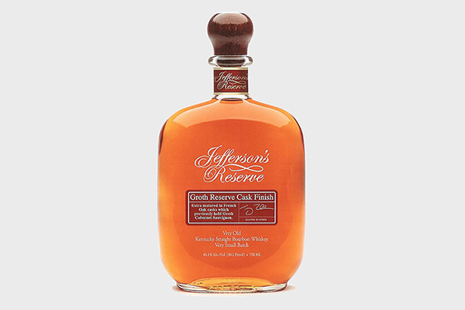 Jefferson's Reserve Groth Cask Finish
