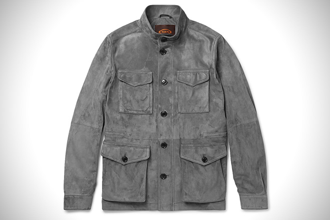 Tod's Iconic Suede Field Jacket