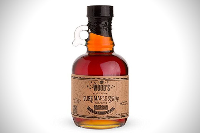 Wood's Vermont Bourbon Maple Syrup