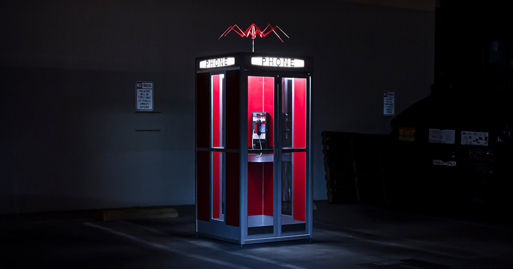 Get Your Nostalgia Kick With This Officially-Licensed Replica Bill & Ted's Phone Booth